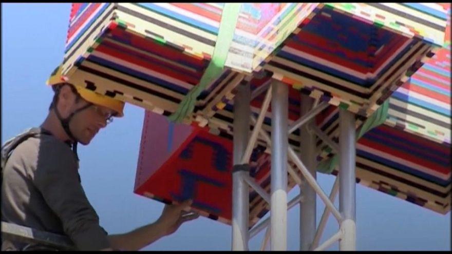 Israel construye la torre de Lego más alta del mundo