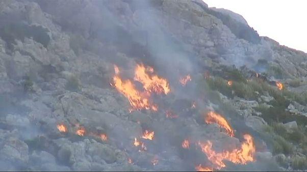 Controlado incêndio em Maiorca