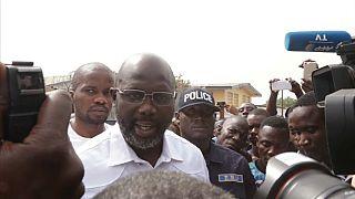 George Weah, elegido nuevo presidente de Liberia