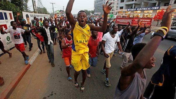 Liberia : les partisans de George Weah fêtent sa victoire