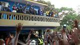 Liberyalı efsanevi futbolcu Weah devlet başkanı seçildi