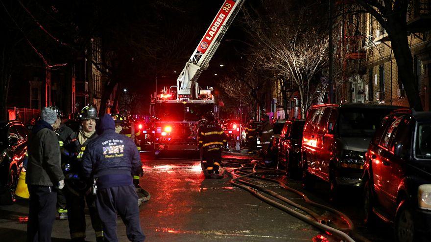 """Нью-Йорк: """"самый страшный пожар"""""""