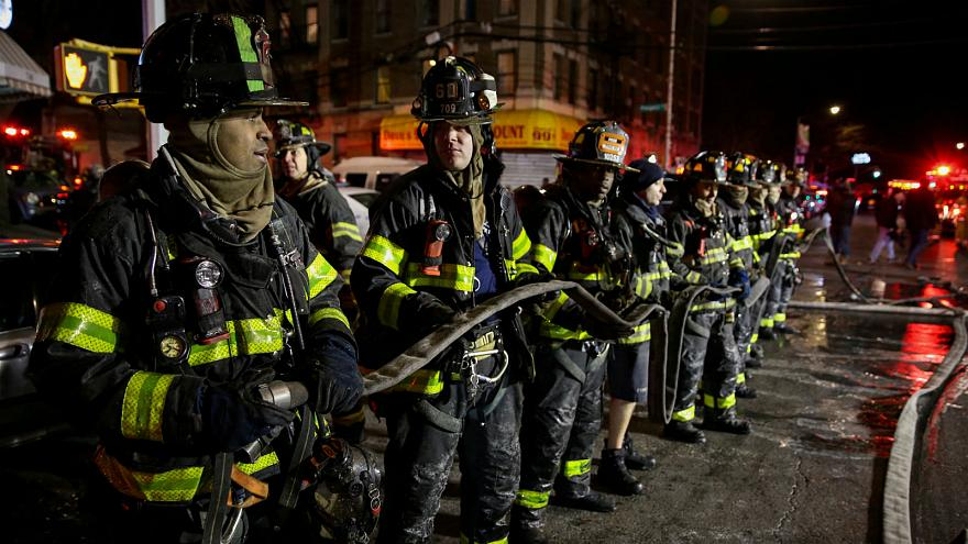 At least 12 killed in New York apartment fire