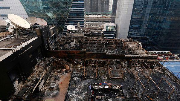 15 قتيلا في حريق ضخم بمومباي الهندية