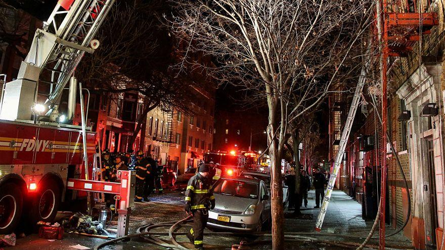 Etats-Unis : 12 morts dans un incendie à New York