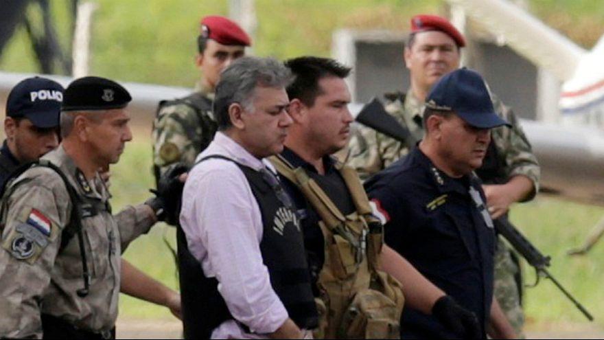 Jarvis Pavão foi repatriado entre fortes medidas de segurança