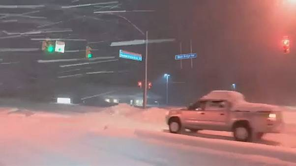 Record snowfall in Pennsylvania