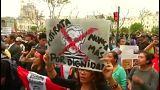 Vaga de protestos por causa de indulto a Fujimori