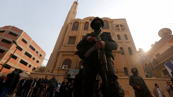 داعش يعلن مسؤوليته عن الهجوم على كنيسة مارمينا جنوب القاهرة