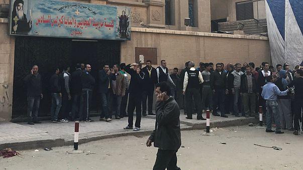 Нападение на церковь в пригороде Каира