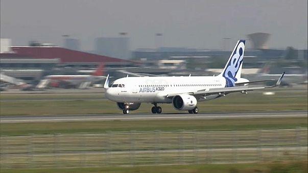 Аэробусы улетают в Китай