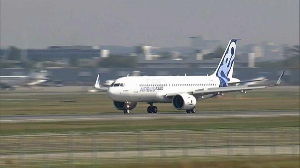 Milliardenaufträge für Airbus