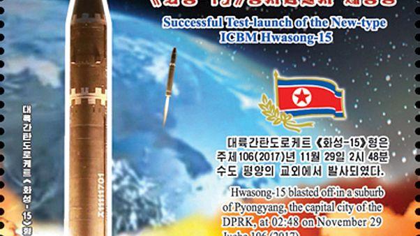 Foto diffusa dall'agenzia di stampa nordcoreana KCNA
