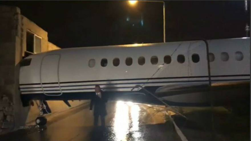jet reportedly owned by Lord Ashcroft crashed into Malta