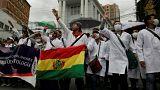 Nueva ola de protestas de médicos en Bolivia
