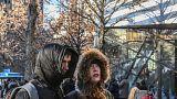 ABD'nin kuzeyindeki soğuk hava dalgası New York'ta etkili oldu