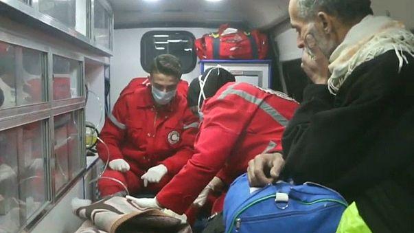 Observatório Sírio dos Direitos Humanos anuncia resgate de 12 feridos graves em Ghouta Oriental