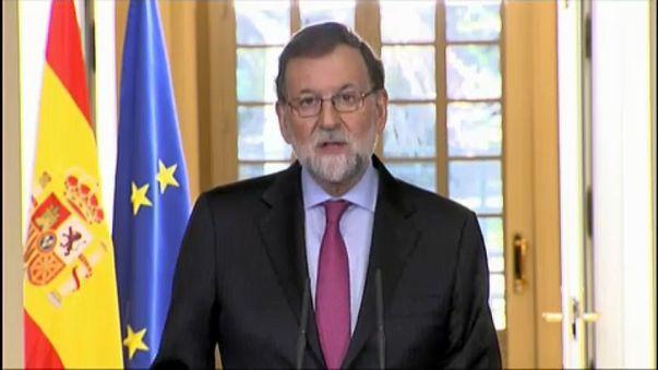 Párbeszédre képes új katalán kormányt szeretne Rajoy