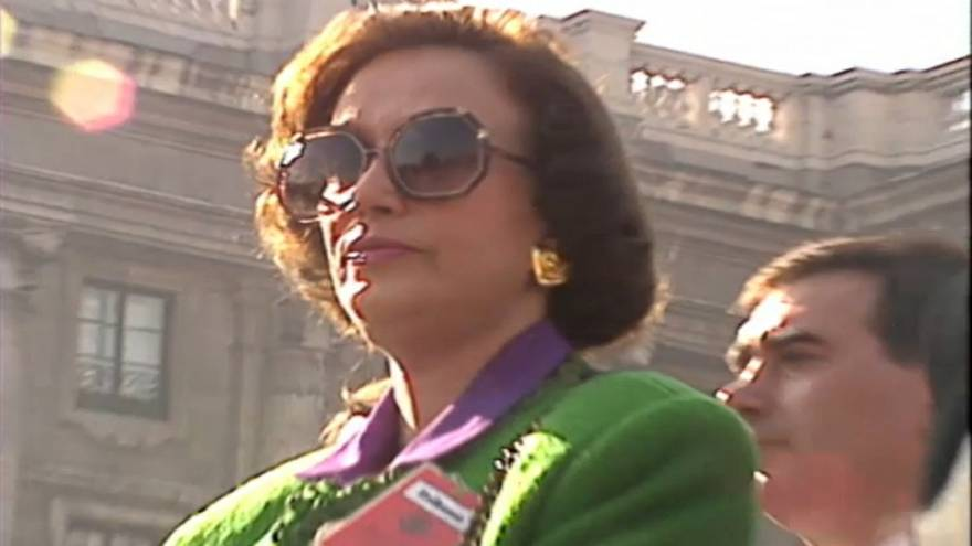 Espagne : décès de la fille unique de Franco