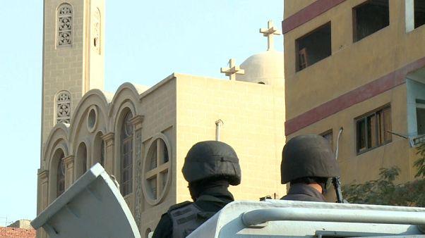 El grupo Estado Islámico reivindica el ataque sobre la iglesia copta de El Cairo