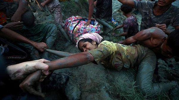 گزارش تصویری؛ در سال ۲۰۱۷ بر مسلمانان روهینگیا چه گذشت؟