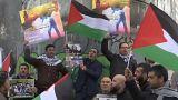 Filistin: Kudüs protestosunda çok sayıda gösterici yaralandı