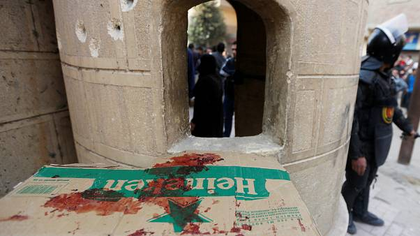 شاهد بالفيديو: لحظة إطلاق النار على مهاجم كنيسة مارمينا في مصر