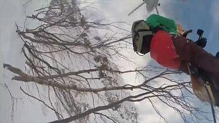 Deux snowboardeurs secourus en Russie