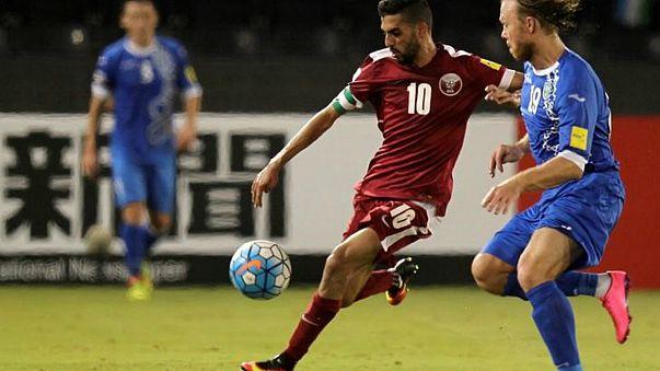 قطر تودع كأس الخليج لكرة القدم بعد تعادل إيجابي مع البحرين
