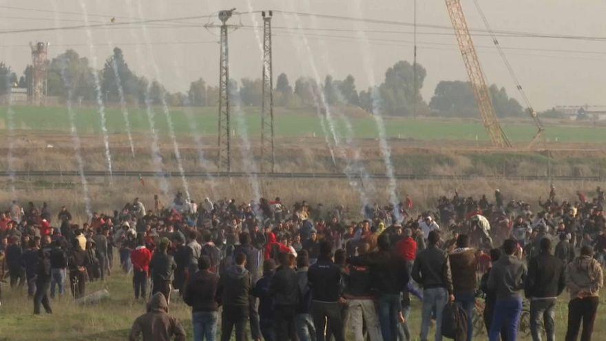 İsrail polisinden Filistinli göstericilere sert müdahale