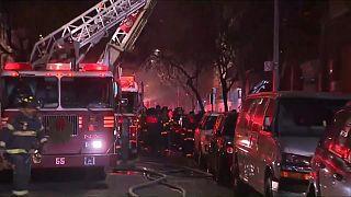 Крупнейший пожар в Нью-Йорке спровоцировал ребенок