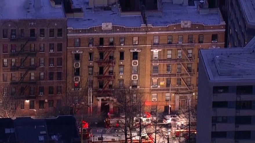 Incêndio em Nova Iorque provocado por criança de três anos