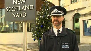 Segurança apertada na entrada do novo ano em Londres