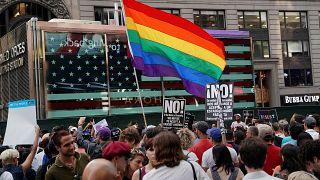 Transgender Proteste USA