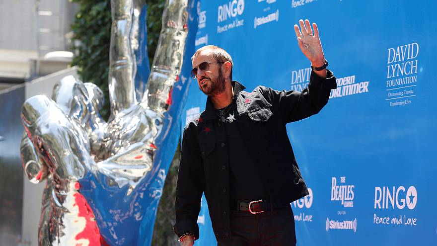 Ringo Starr and Barry Gibb knighted in UK New Year honours list