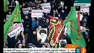 Иран: манифестация в поддержку властей после протестов оппозиции