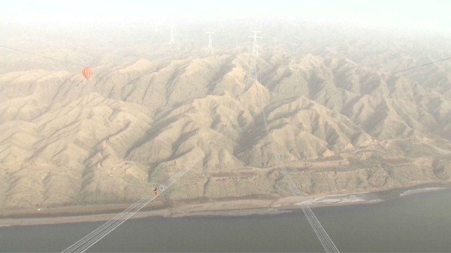 В Китае строят самую высокую ЛЭП