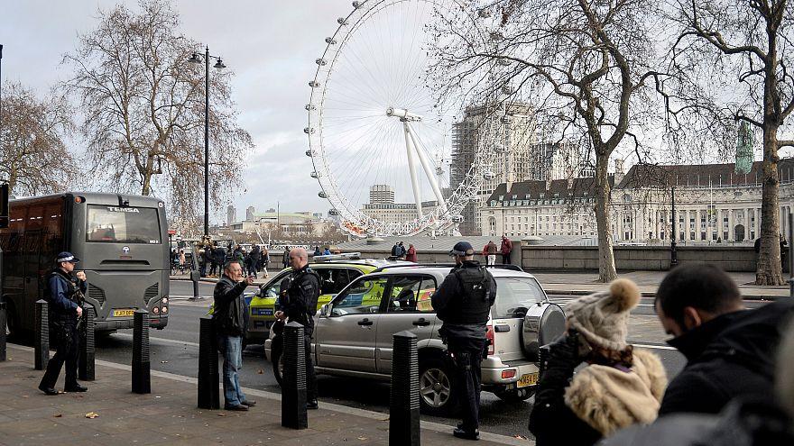 Les rues de Londres sous haute protection pour le Réveillon
