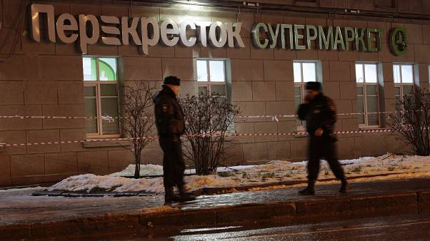 Russia: suspect held over St Petersburg supermarket blast