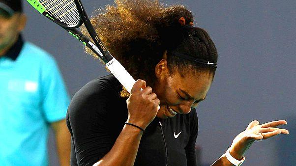 Serena Williams mağlubiyetle başladı