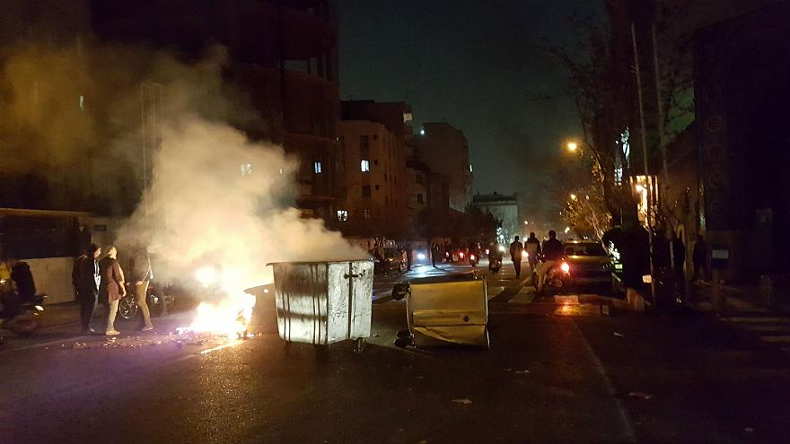 Anti-government protests in Iran turn violent