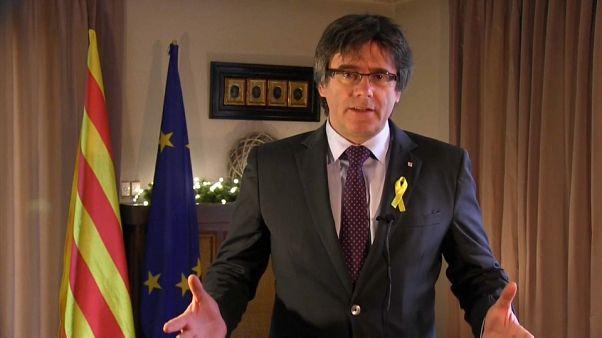 Puigdemont'tan Madrid'e: Yanlış yapıyorsunuz