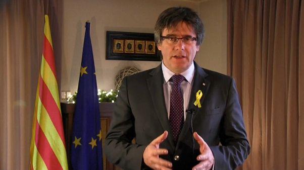 Puigdemont fordert von Madrid Anerkennung der Katalonien-Wahl