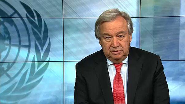 """""""Vörös riasztással"""" köszönti az újévet az ENSZ-főtitkár"""