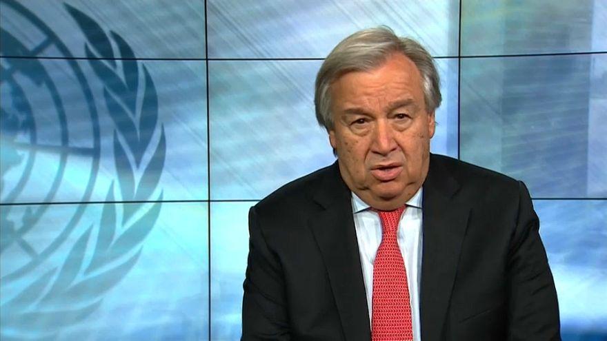 António Guterres pide a este 2018 entendimiento