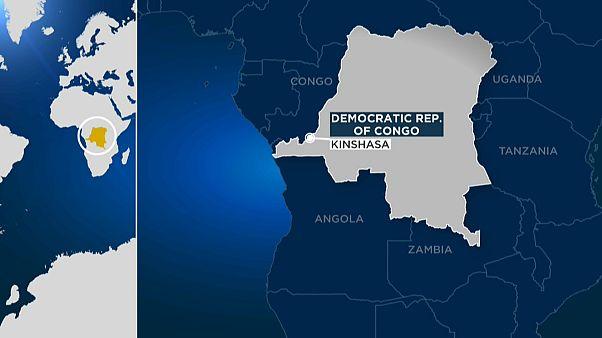 The two men were shot dead in DR Congo's capital, Kinshasa