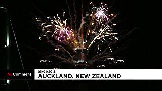 Nova Zelândia já entrou em 2018