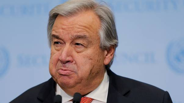 UN chief issues 'red alert'