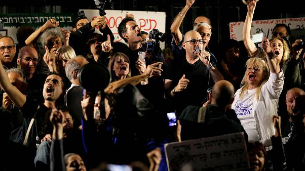 """Proteste in Israel: """"Netanjahu, geh nach Hause"""""""