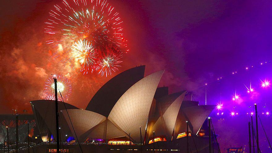 2018 hat begonnen: Auckland, Sydney und Seoul feiern schon